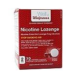 Walgreens Nicotine Lozenge, 2 mg, Cherry, 72 ea