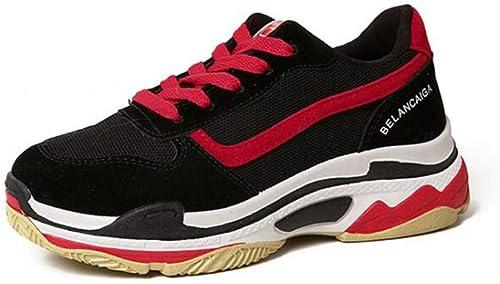 He-yanjing Im Freienplattform-Turnschuh, Sportschuhe der niedrigen Schnittart und Weißefrauen, rüttelnde Eignungs-Schuhe