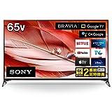 ソニー 65V型 液晶 テレビ ブラビア XRJ-65X90J 4Kチューナー 内蔵 Google TV (2021年モデル) 大画面でゲームを楽しむのにお勧め 4K/120fps対応