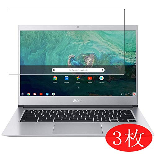 【3 Pack】 Synvy Screen Protector Compatible with Acer Chromebook 514 CB514-1H / CB514-1HT 14' TPU Flexible HD Film Protective Protectors [Not Tempered Glass]