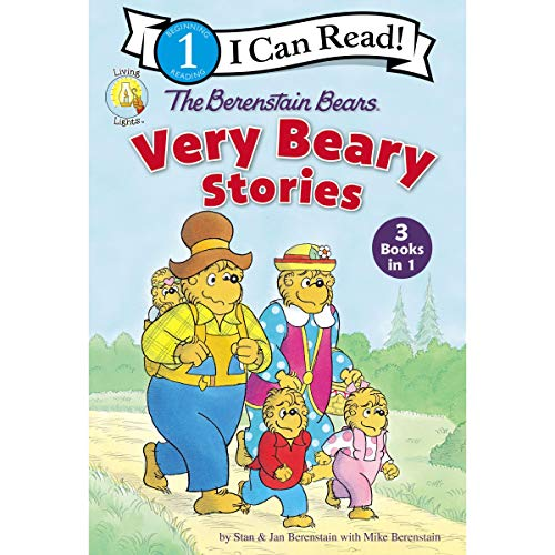 The Berenstain Bears Very Beary Stories audiobook cover art