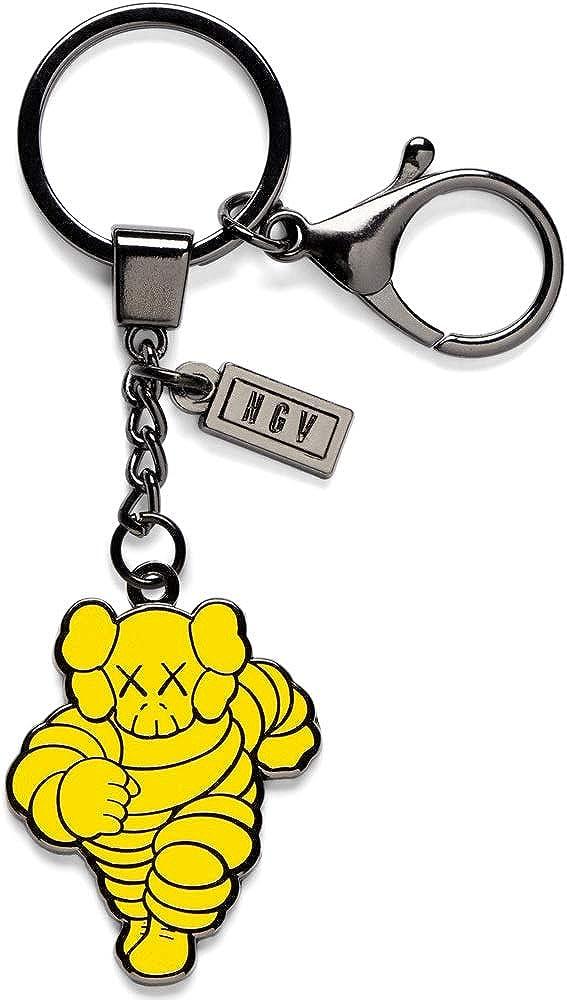 KAWS Yellow Chum Keyring Keychain NGV