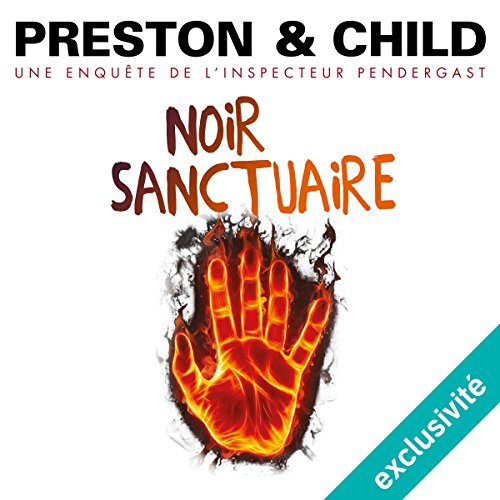 Noir sanctuaire audiobook cover art