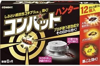 KINCHO コンバット ハンター ゴキブリ殺虫剤 12個入