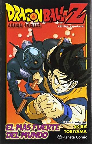 Dragon Ball Z Anime Comic El hombre más fuerte del mundo (Manga Shonen)