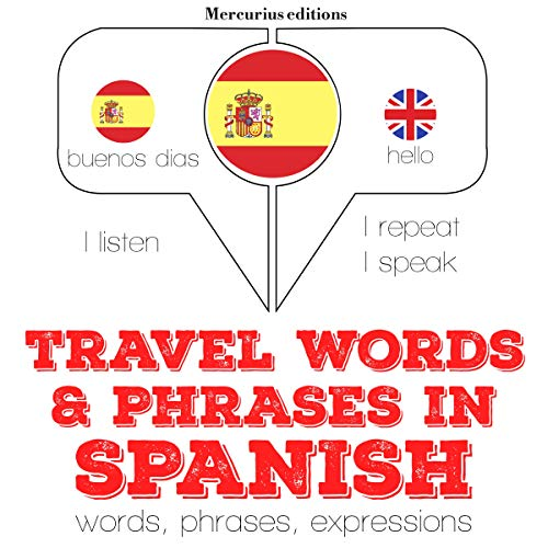 Travel words and phrases in Spanish  By  cover art