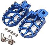 JFGRACING - Pedales reposapiés CNC para motocicleta Husqvarna 65-701 TE TC FE FC ENDURO SUPER MOTO 14-19 FS450 15, Husaberg todos los modelos 08-14