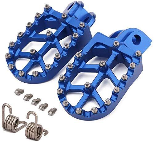 Jfgracing Motorrad CNC Fußrasten, Pedale für Husqvarna 65-701 TE TC FE FC Enduro Super Moto 14-19 FS450 15 Husaberg, alle Modelle 08-14