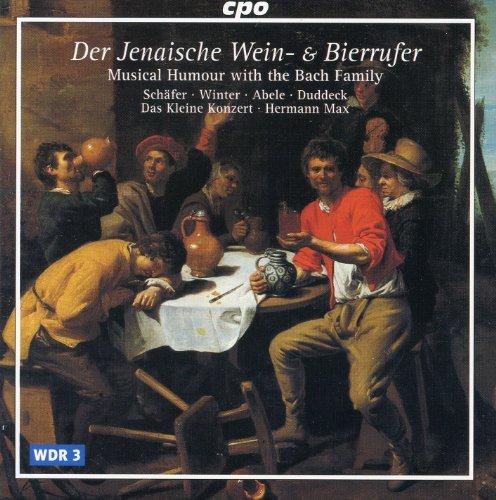 Der Jenaische Wein- und Bierrufer: Recitative: Das ist mir wohl der rechte Kern! (Clemon, Peter, Caspar, Johannes)