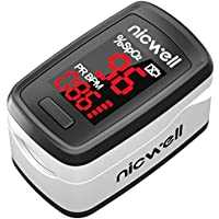 Lovia Blood Oxygen Saturation Heart Rate and SpO2 Levels Portable Oximeter