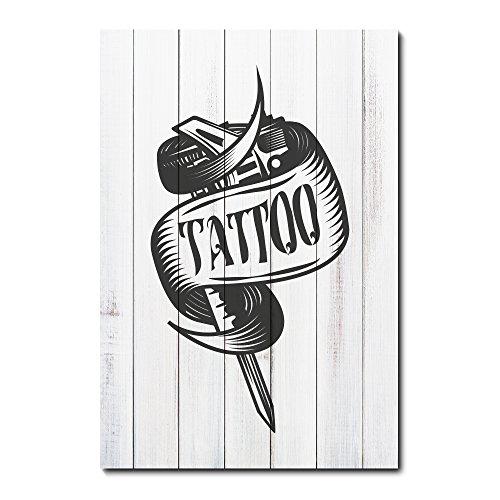 Placa Decorativa - Tatuagem - 1912plmk