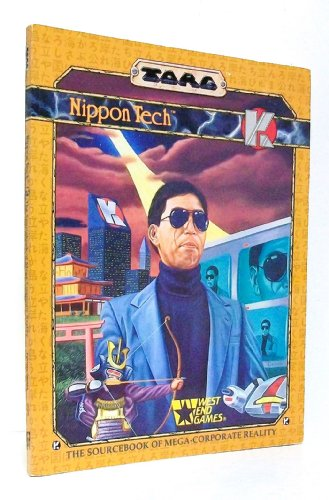 Torg: Nippon Tech - The Sourcebook of Mega-Corporate Reality (20509)