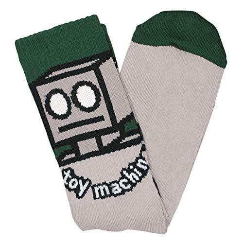 Toy Machine Socken Robot (Grey)