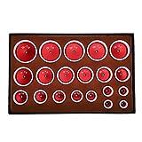 Kit Di Riparazione Per Orologi 20 Pezzi Cassa Dell'Orologio Stampo Per Stampaggio Fondello Per Orologio Più Vicino Stampi Per Strumenti Di Riparazione Dell'Orologio
