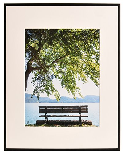 Nielsen Bainbridge ARTCARE by Nielsen Metallic 8X10 11X14 Tuscany Florentine-Silver MATTED Frame 8 inches x 10 inches 4 Piece NBG Home RM9713150