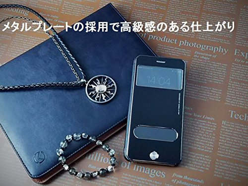 『isp iPhone 6 Plus / 6s Plus 開閉式 スリーブケース + ispロゴ入りオリジナルクロスセット ブラック』の1枚目の画像