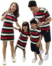 ملابس متطابقة للعائلة للأم والابنة والابن والأخوات والأخوات والكور والأم والأم والأخوات والكورية الأنيقة للرجال والأزواج ملابس الشاطئ