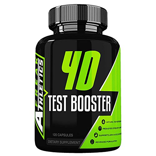 4D Test Booster - Elite Level Testosterone Booster by Freak Athletics - 120 Capsules - Test Booster for Men Made in The UK - High Quality Guaranteed