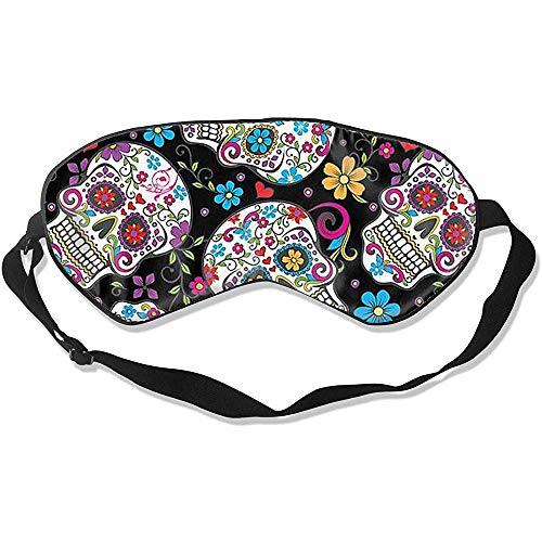 Flower Sugar Slaapmasker, modieus, coole oogbedekking, voor thuiskantoor, hotel