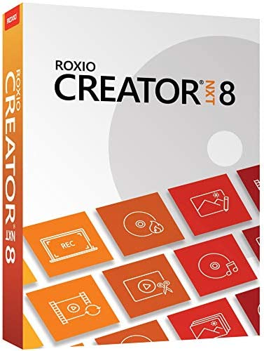 Roxio Creator NXT 8 CD DVD Burning and Creativity Suite PC Disc product image