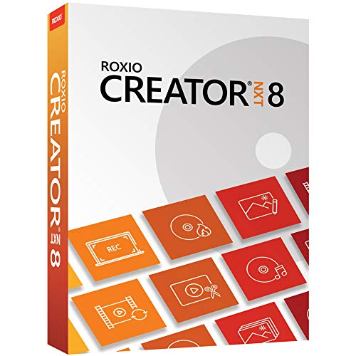 Roxio Creator NXT 8 | CD/DVD Burning and Creativity Suite [PC Disc]