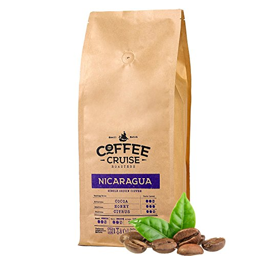 COFFEE CRUISE © Single Herkunft Kaffeebohnen - Nicaragua - 1 kg- 100% Arabica