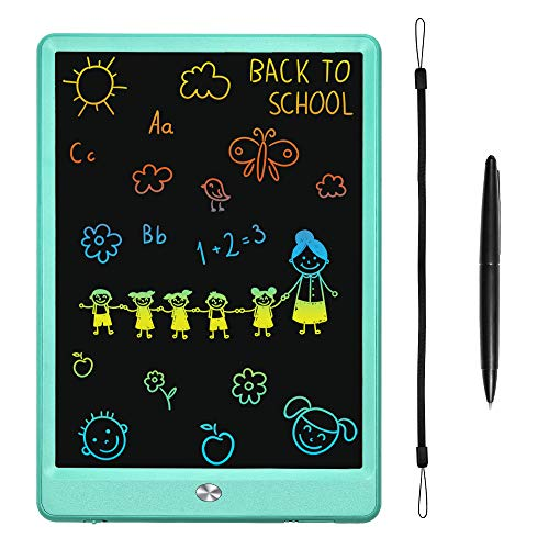 KURATU LCD Writing Tablets for Kids 10 inch Rainbow Edition Electronic Drawing Board Kids Toys Writing Board & Drawing Tablet Doodle Board Writing Tablets(Green)