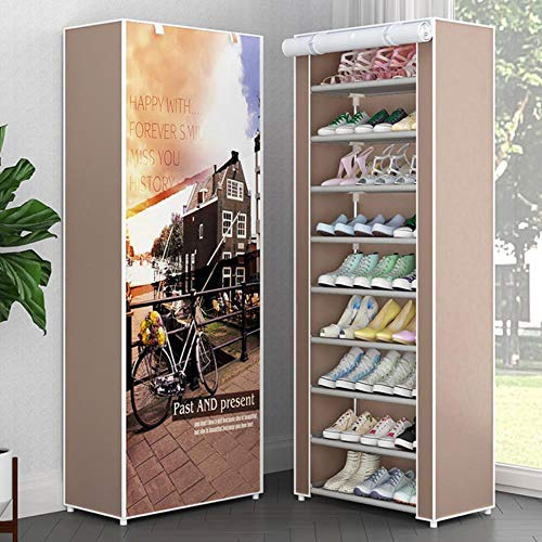 Organizador de estante de zapatos multifunción creativo zapatos de secado estante soporte percha niños zapatos colgantes de almacenamiento piso-velcro 32