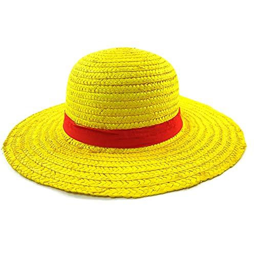 cappello Brdwn Unisex ONE PIECE Cosplay Monkey D Rufy Cappello di Paglia Cappello