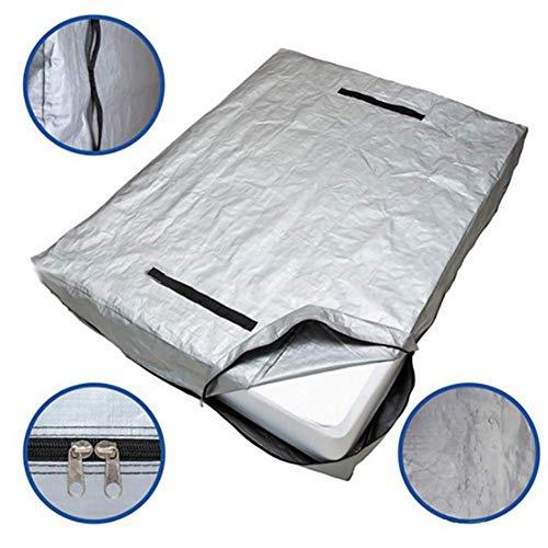 Hainter Matratzen-Aufbewahrungstasche Matratzenhülle mit 2 seitigem Reißverschluss und Tragegriff - platzsparend, atmungsaktiv - für Transport und Aufbewahrung - in 5 Größen