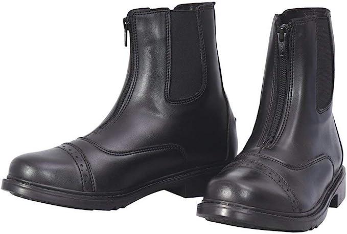 1940s Women's Footwear TuffRider Ladies Starter Front Zip Paddock Boots  AT vintagedancer.com