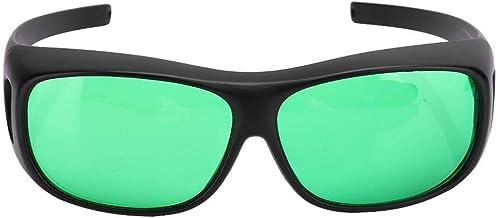 DAUERHAFT Inre skyddsglas växer glasögonblock alla UVA- och UVB-strålar hydroponskt ögonskydd för tältväxthus hydroponik v...