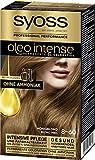 SYOSS Oleo Intense Permanente Öl-Coloration, Haarfarbe 8-60 Honigblond, mit pflegendem Öl & ohne...