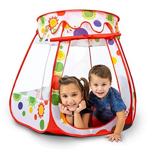 Carpa JoyKip Serie Carpa Casa de Juegos Pop Up para Niños (JK-700) Jugar en Interiores y Exteriores