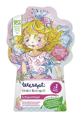 tetesept Kinder Badespaß Schaumbad Prinzessin Lillifee – Pflegender Badezusatz für Kinder ab 3 Jahren – 1 x 40 ml