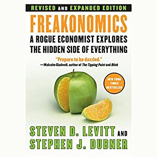 Freakonomics audiobook cover art