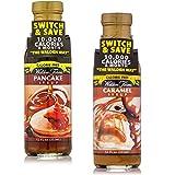 Walden Farms Kalorienfreie Ahornsirup Maple Sauce & Caramel Syrup 2-Pack (2 x 355ml)