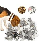 Aoweika Alfombra para perros, alfombrilla para olfatar, juguete inteligencia, lavable a máquina, alfombra de actividad para búsqueda de alimentos para gatos y perros (45 x 45 cm)
