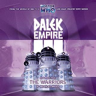 Dalek Empire 3.5 The Warriors audiobook cover art
