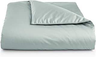 Charter Club Damask Solid 550 Thread Count Supima Cotton King Duvet Cover Mint