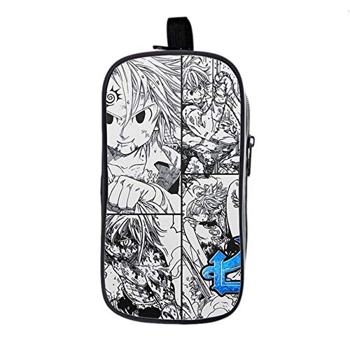 bgdo.cccc The Seven Deadly Sins Backpack School Bags for Teenagers Boys Girls Laptop Backpack Travel Bags,Pencil case 1
