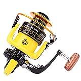 Mulinello da Pesca 12BB 5,2:1 Metal Feeder Fishing Reel Pesca mulinelli Attrezzatura da Pesca,3000model