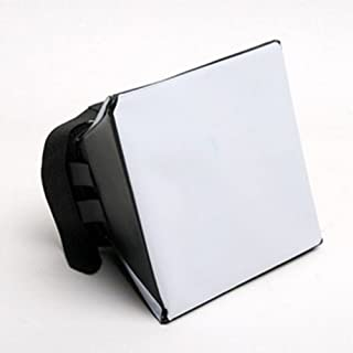 Kathleen0 Flash Diffuser 3 olors Amera Height Adjustable Over Photography sy Install Universal Professional Built-in Soft ompact Lightweight