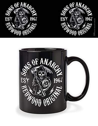 Sons of Anarchy Keramiktasse - Redwood Original Logo (330 ml)