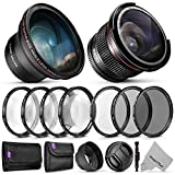 58mm Altura Photo Essential Accessory Kit for Canon EOS...