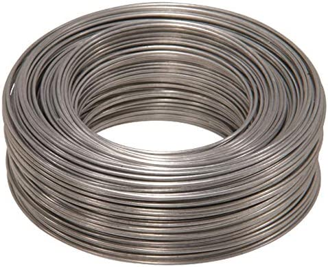Single Pack 1-Pack 25-Feet The Hillman Group 123130 16 Gauge Galvanized Steel Wire