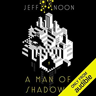 A Man of Shadows audiobook cover art