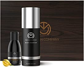 The Man Company The Dark Knight Gift set for Men (Noir Body Perfume,Charcoal Face Wash)