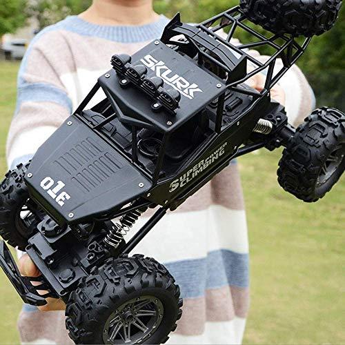 1yess Auto 01.10 Maxi-15KM / H allFour Antrieb Fernbedienung Buggy Autolade Klettern Bigfoot Racing Fahrzeug TBirthday Geschenke for Kinder 4+ (Farbe: Gold, Größe: 3-Batterie)