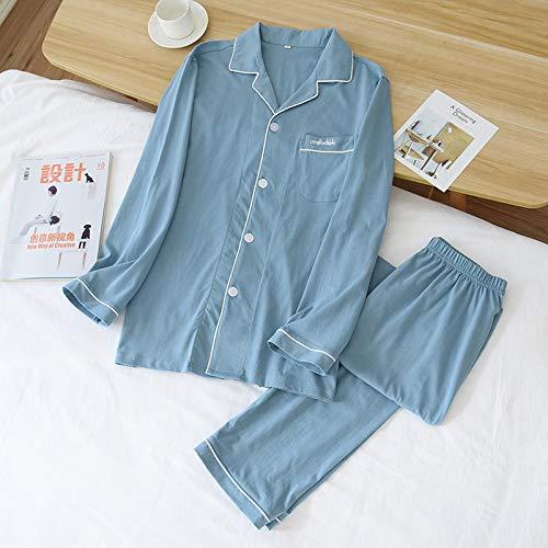pigiama uomo vestaglia STJDM Camicia da Notte